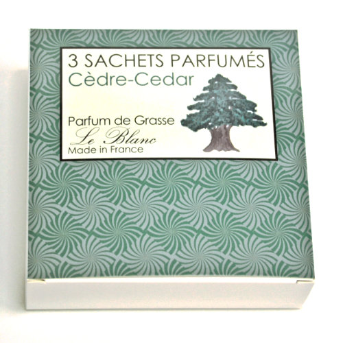 Geschenk Box Sachet 3er Ceder