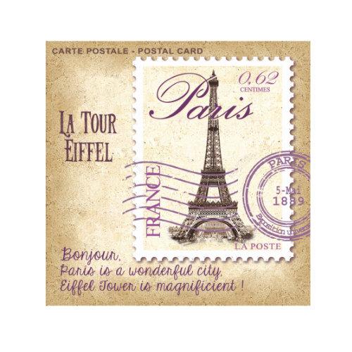 Sachet LB Carte Postale Paris