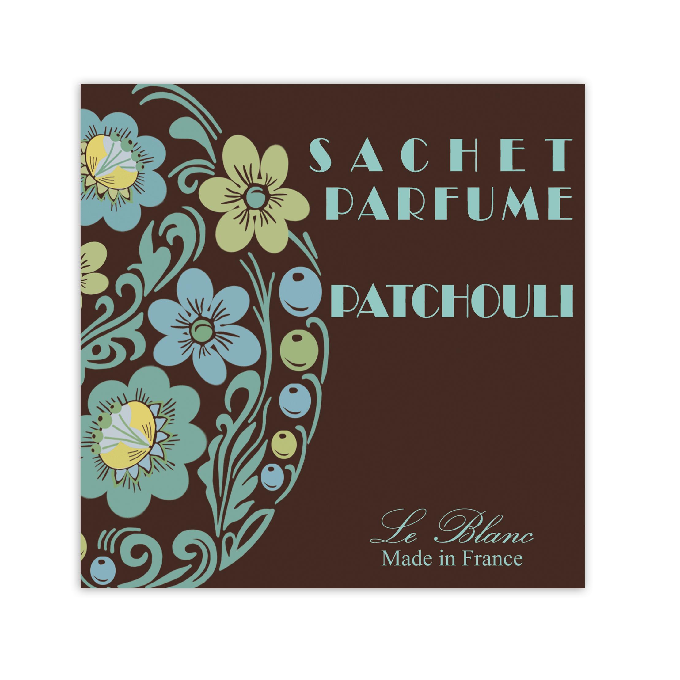 Sachet Parfumé 11 cm Le Blanc Patchouli