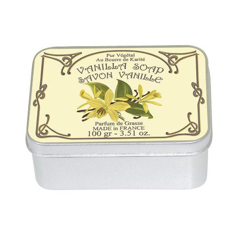 Naturseife 100 g Tin Box Vanilla