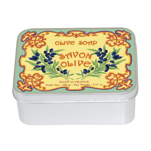 Naturseife 100 g Tin Box Olive
