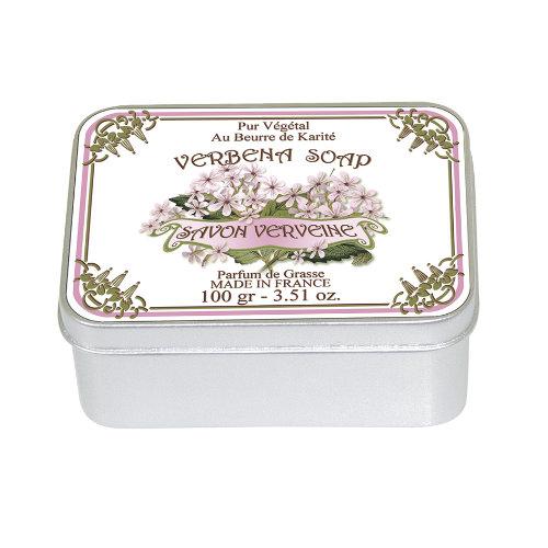 Naturseife 100 g Tin Box Verbena