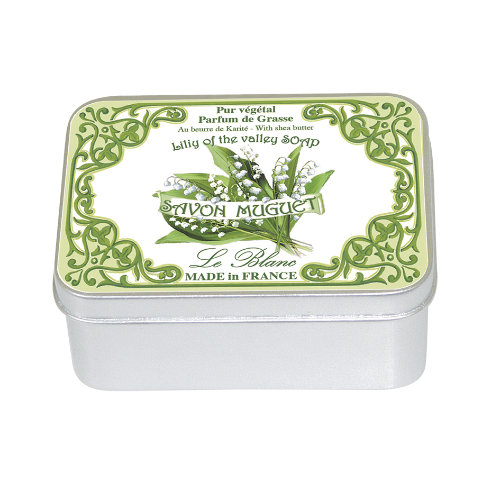 Naturseife 100 g Tin Box Lily of the Valley