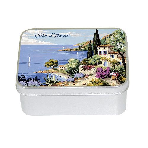 Naturseife 100 g Tin Box Côte d´Azur