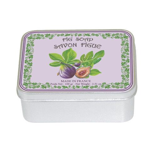 Naturseife 100 g Tin Box Feige