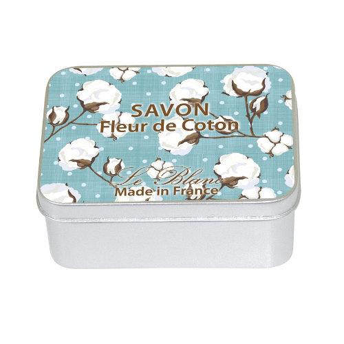 Naturseife 100 g Tin Box Fleur de Coton