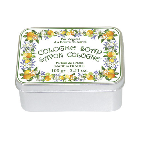 Naturseife 100 g Tin Box Cologne