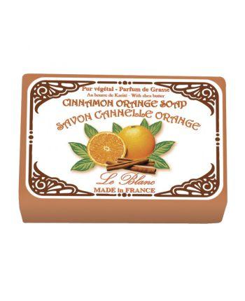 Naturseife 100 g Illustré  Le Blanc Cinnamon-Orange