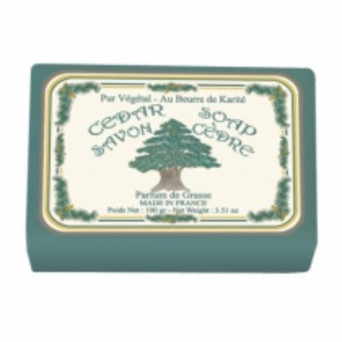 Naturseife 100 g Illustré Cedar