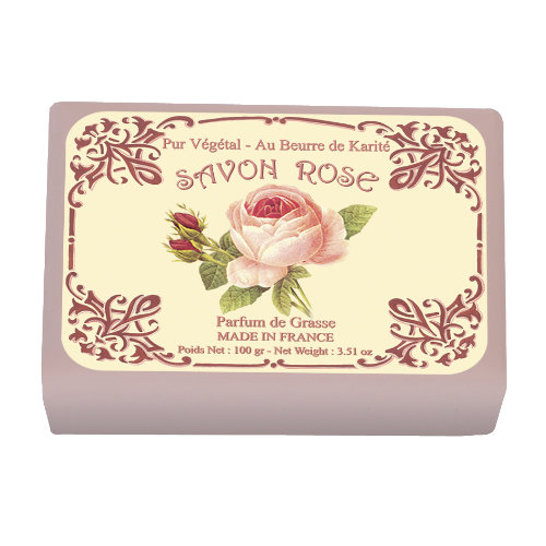 Naturseife 100 g Illustré  Rose