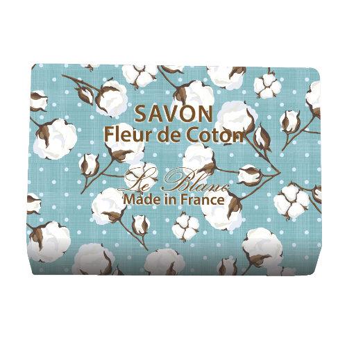 Naturseife 100 g Illustré Fleur de Coton