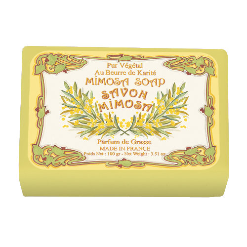 Naturseife 100 g Illustré  Mimosa