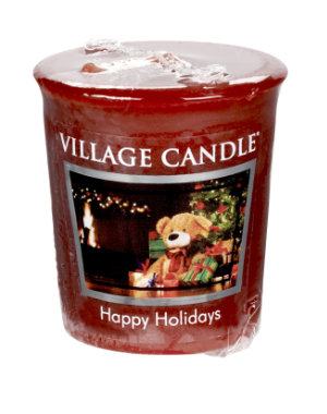 Votive 57 g Happy Holidays