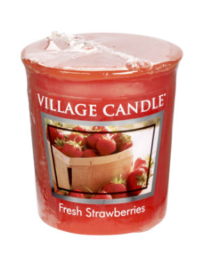 Votive 57 g Fresh Strawberries