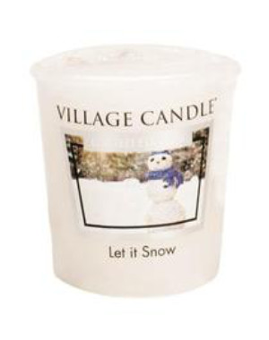 Votive 57 g Let it Snow