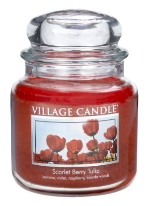 Jar Medium 411 g Scarlett Berry Tulip