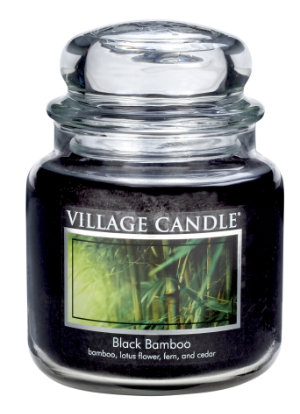 Jar Medium 411 g Black Bamboo