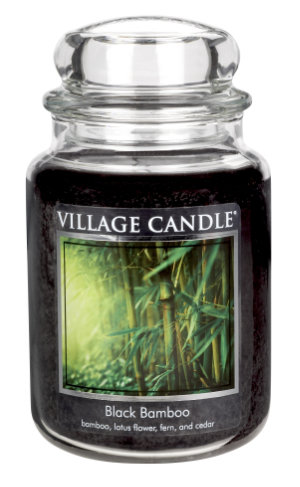 Jar Large 626 g Black Bamboo