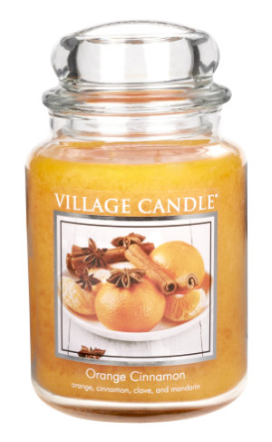 Jar Large 626 g Orange Cinnamon