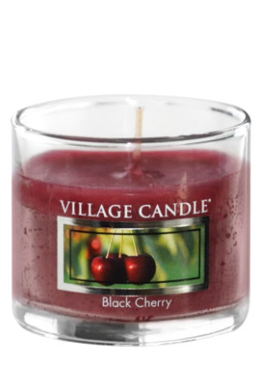 Mini Glass Votive Black Cherry