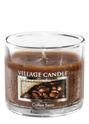 Mini Glass Votive Coffee Bean