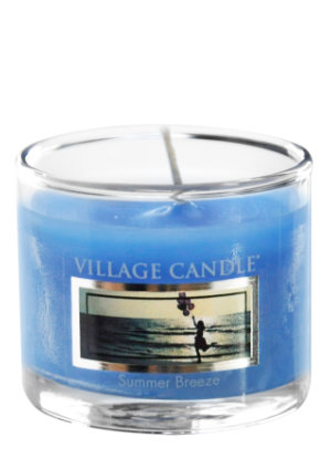 Mini Glass Votive Summer Breeze
