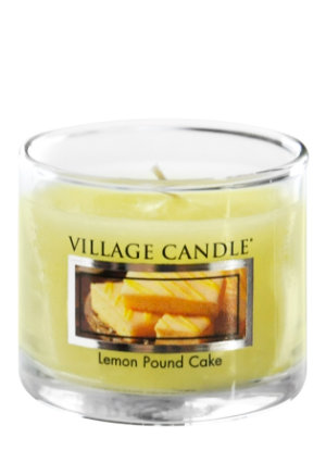 Mini Glass Votive Lemon Pound Cake