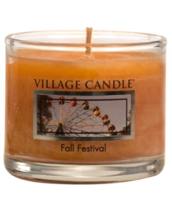 Mini Glass Votive Fall Festival