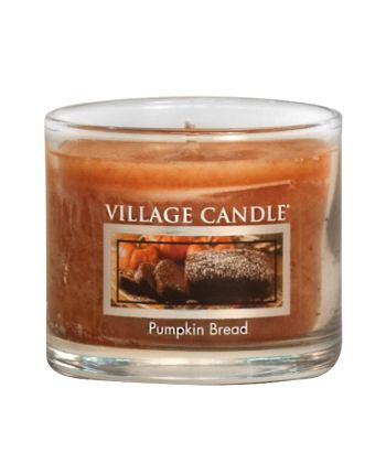 Mini Glass Votive Pumpkin Bread
