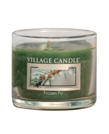 Mini Glass Votive Frozen Fir LE