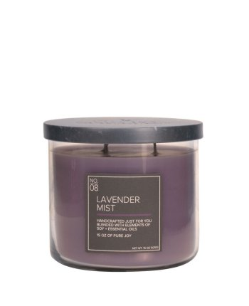 Natural Bowl 3-Wick 425 g Lavender Mist