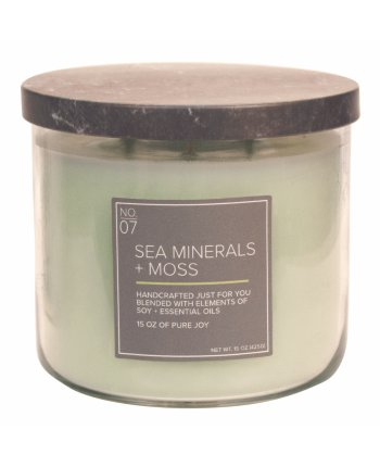 Natural Bowl 3-Wick 425 g Sea Minerals & Moss
