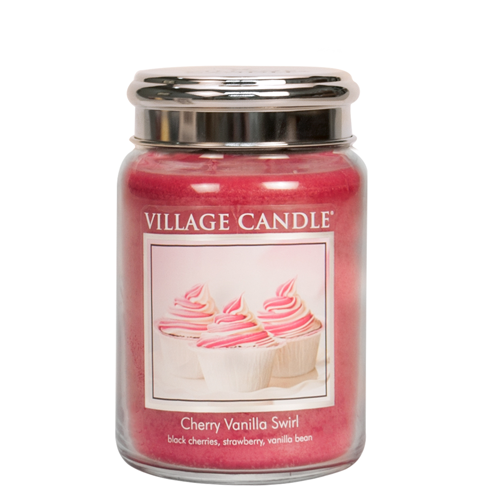 Tradition Jar Large 626 g Cherry Vanilla Swirl