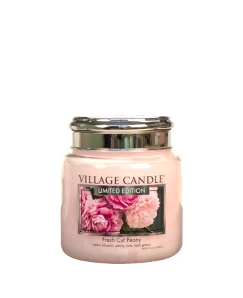 Tradition Jar Medium 411 g Fresh Cut Peony LE
