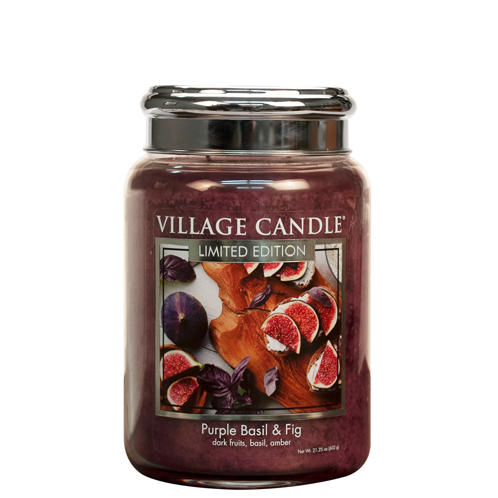 Tradition Jar Large 626 g Purple Basil & Fig LE