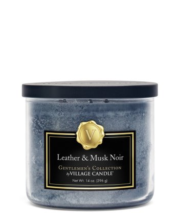 Gentlemen´s Coll. Bowl medium Leather & Musk Noir