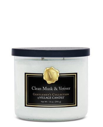 Gentlemen´s Coll. Bowl medium Clean Musk & Vetiver