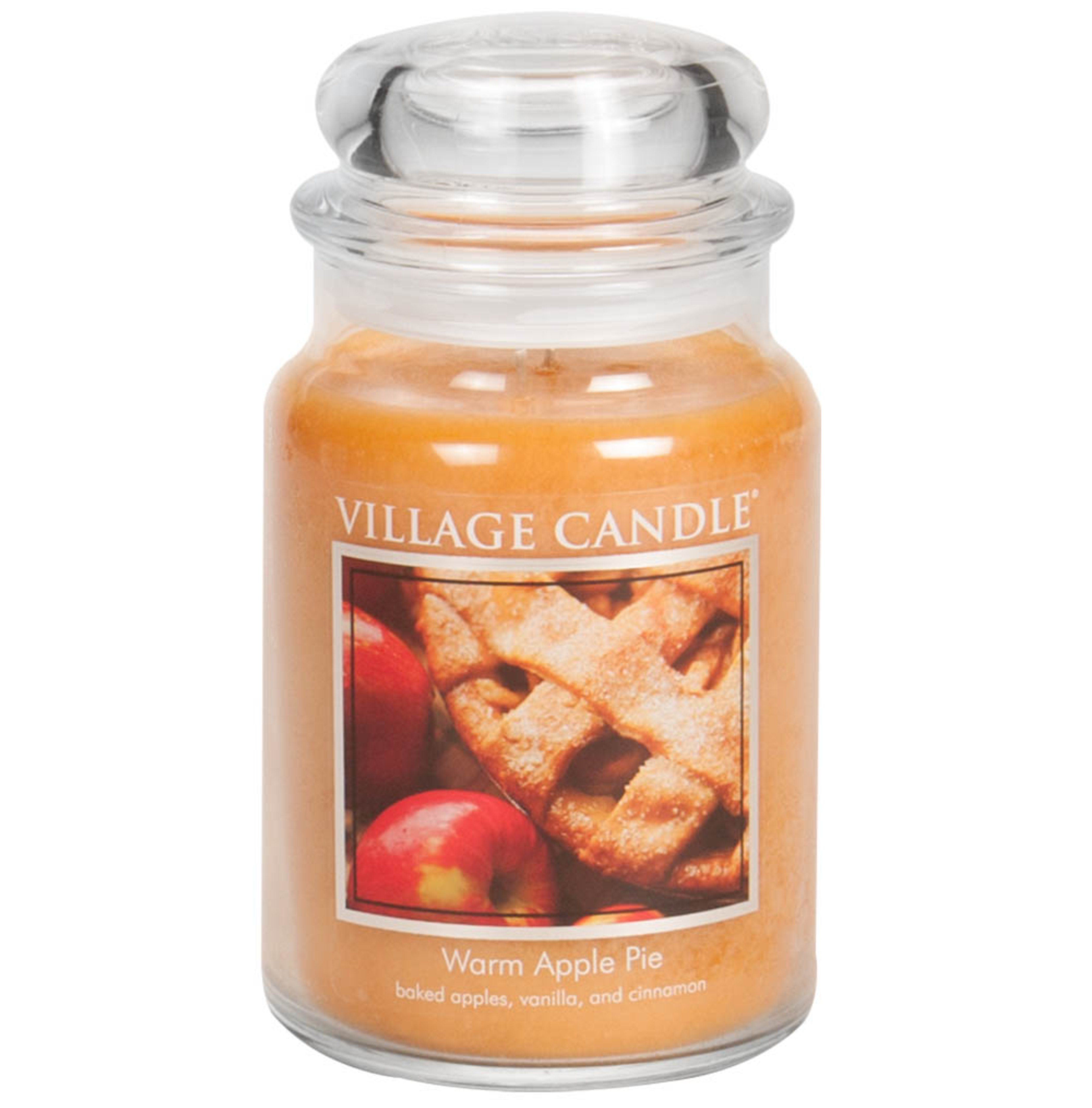 Tradition Jar Dome Large 602 g Warm Apple Pie