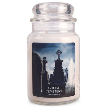 FANTASY Jar Dome large Ghost Cemetery