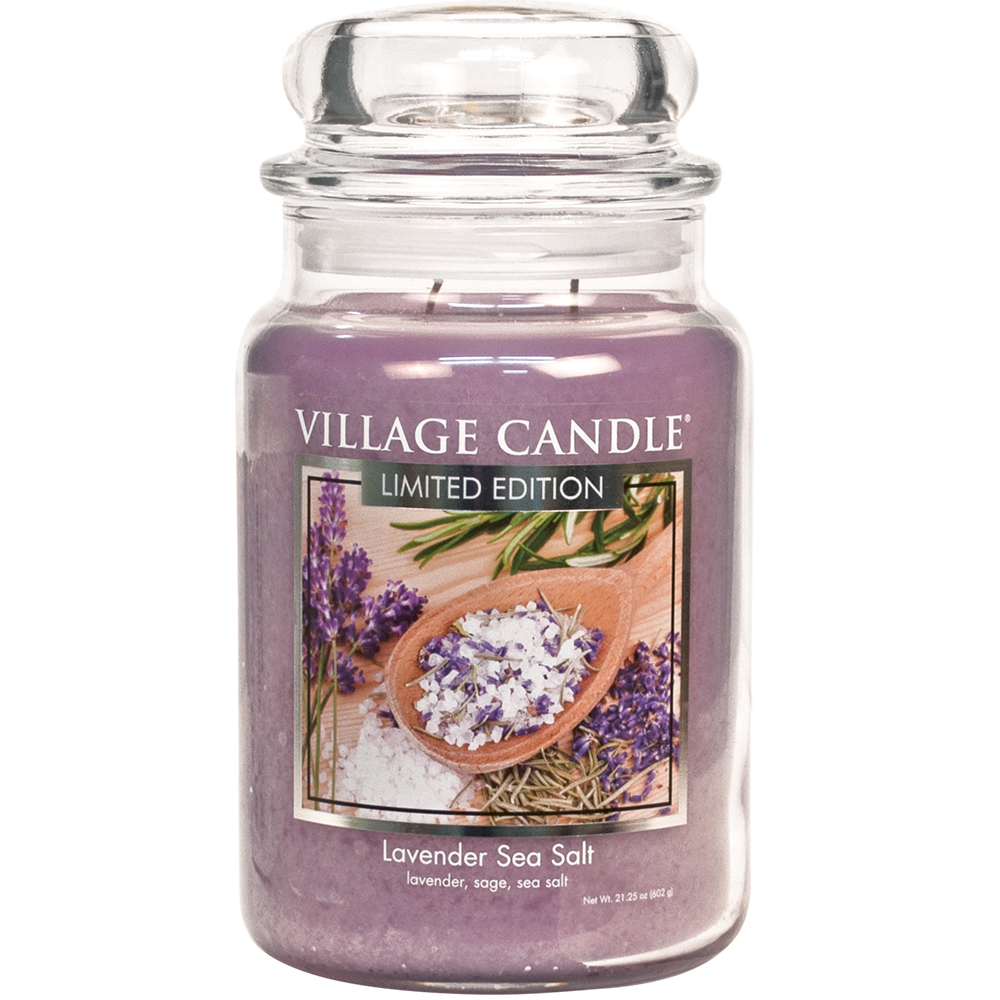 SPA Jar Dome Large 602 g Lavender Sea Salt