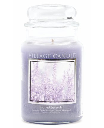 Tradition Jar Dome Large 602 g Frosted Lavender