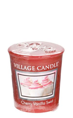 Votive 57 g Cherry Vanilla Swirl