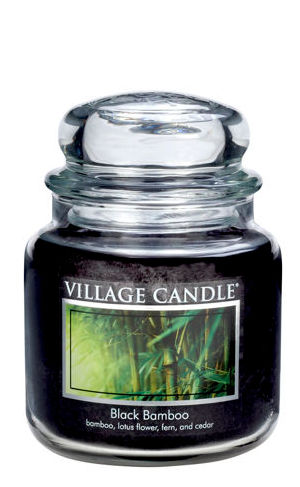 Jar Medium 411 g Black Bamboo