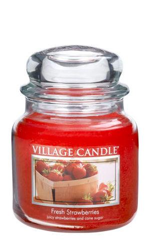 Jar Medium 411 g Fresh Strawberries