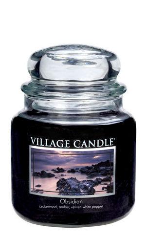 Jar Medium 411 g Obsidian