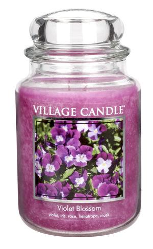 Jar Large 626 g Violet Blossom