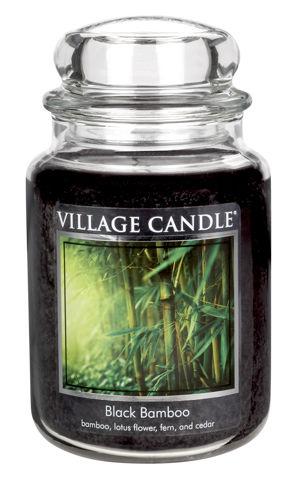 Jar Large 626 g Black Bamboo