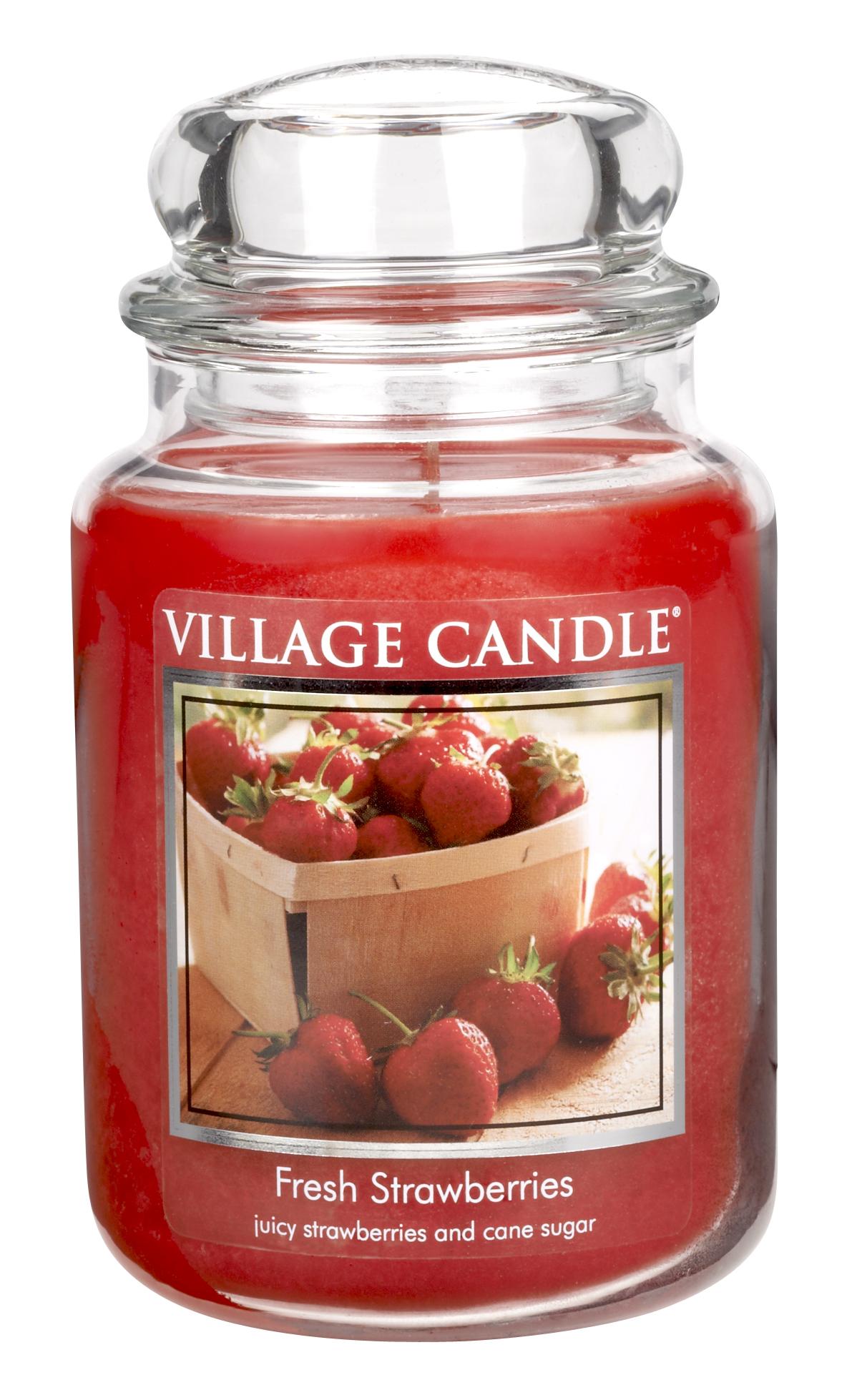 Jar Large 626 g Fresh Strawberries