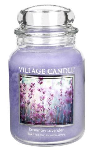 Jar Large 626 g Rosemary Lavender