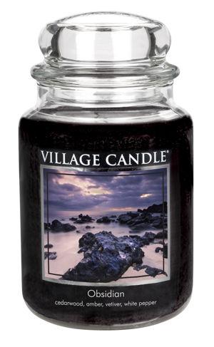 Jar Large 626 g Obsidian